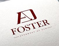 A. D. Foster Logo Design