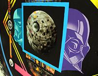 Lunar, Deathstar Disco, Mural