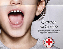 """Polish Red Cross """"Hungry Childhood"""", Outdoor 2011"""