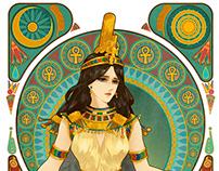 埃及风格稿(共4张)