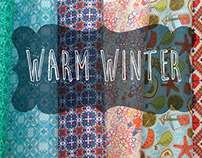 """Warm Winter"" fabrics collection"