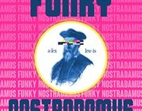 """Alex Lewis """"Funky Nostradamus"""" Cover Art"""
