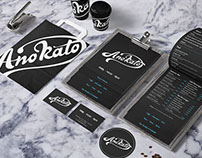 Brand Identity For Ano Kato cafe bar