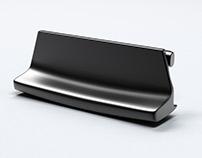 Opel Astra H handle for armrest 3D model
