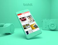 Biddi   App Design