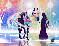 Northern Lights' Horse