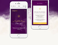Toast of Paris Courvoisier - Site web