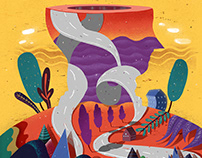 Sabitfikir-Kargamecmua Mag.2015/Editorial Illustrations