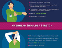 Office Stretches | INFOGRAPHIC