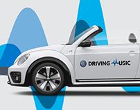 Volkswagen Driving Music - Carsharing Platform