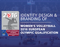 Branding of 2016 European Olympic Qualification