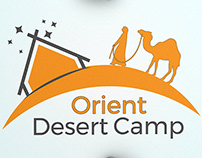 Orient Desert Camp Logo Mark Design