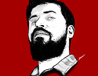 """PintiPanda """"Tuna Akşen"""" Drawing"""