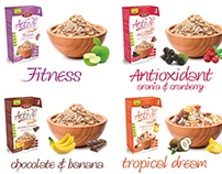 Muesli packaging design