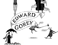 Edward Gorey Decorative Plates