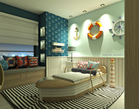 Sailor Bedroom