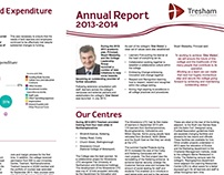 Tresham Annual Report- University Work- 2014/2015