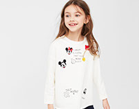 MANGO KIDS - Mickey Sweatshirt