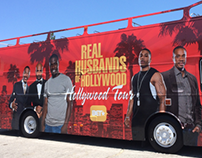 Bus Wrap - Real Husbands Of Hollywood
