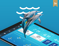 Diving application system app