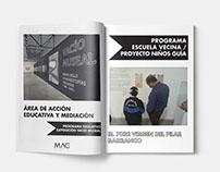 Brochure Acción Educativa y Mediación Mac Lima
