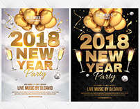 NYE 2018 Flyer Template