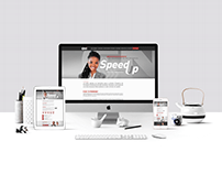 SpeedUp - Landing page / Mídia social /