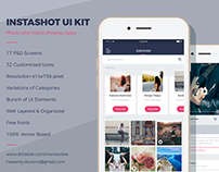 InstaShot UI Kit Elements