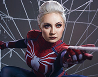 Spider-Man Cosplay by Vixie