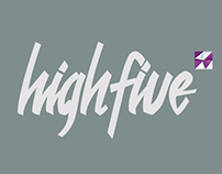 High five. Design contest. Игры дизайнеров 2014