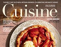 Cuisine Magazine, CGI/Retouch Plate Comp