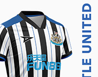 Danyi Football Kit - Newcastle United FC