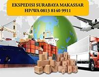 HP/WA 0813 8140 9911, Ekspedisi Surabaya ke Makassar