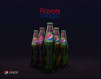 Pepsi Flavors Magic