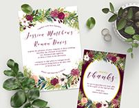 Wedding Stationery Suite