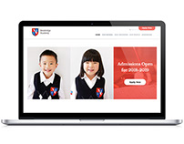 Website Design - Newbridge Academy