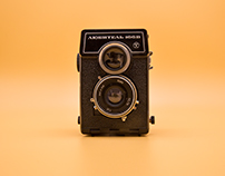 vintage camera / product photography
