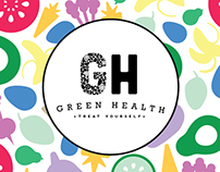 Green Health Logo Concept