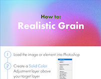 Photoshop Protip: Realistic Grain in Camera Raw
