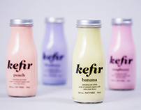 Kefir – milk drink packaging