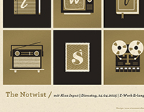 The Notwist Screenprint 2015