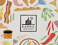 Logo + Menu - KANDIL