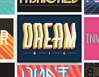 Random Lettering Collection