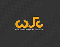 Abstract UET Photography Society Logo (urdu)