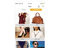 Shop Page Design for Roposo App | www.roposo.com