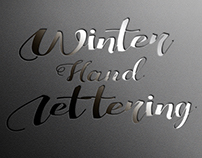 Winter Hand Lettering