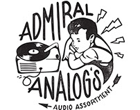 Admiral Analog's Audio Assortment shirt design