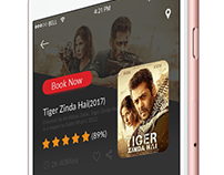 Movie App Screen Design