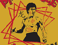 Bruce Lee / Enter the Dragon Design