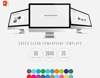 Clean PowerPoint / Keynote Presentation Template